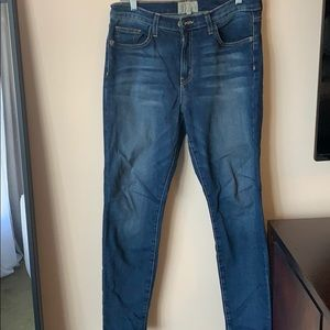 Current Elliot skinny jeans